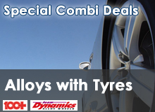 Tyres and Alloys Combi Deals